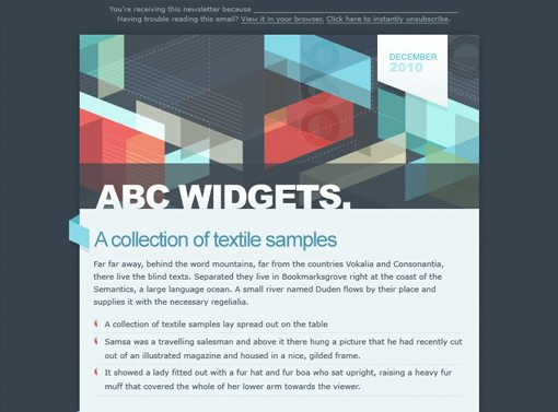 Weekly Freebies: 180 Incredibly Useful HTML Email Templates ...