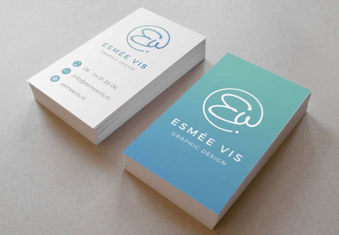 esmee What to Put on a Business Card: 8 Creative Ideas design tips