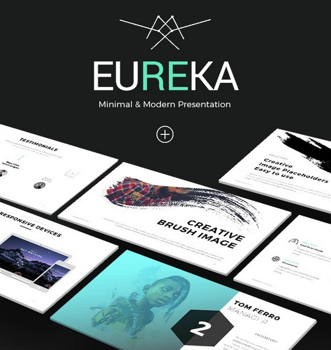 eureka-1 30+ Best Keynote Templates of 2018 design tips