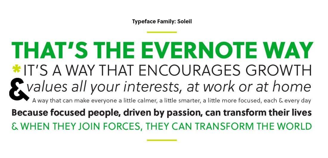 evernote-Imagen corporativa