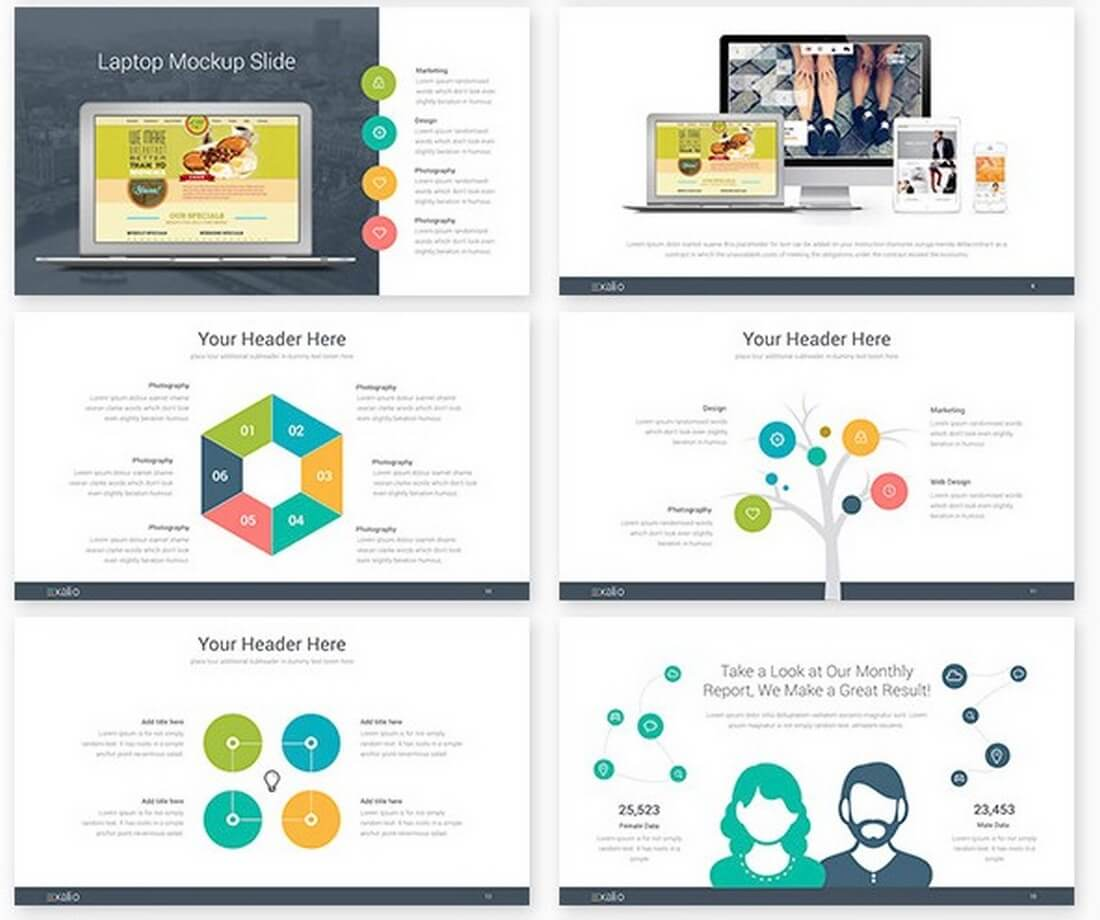 30 best keynote templates of 2016 design shack for Free keynote template