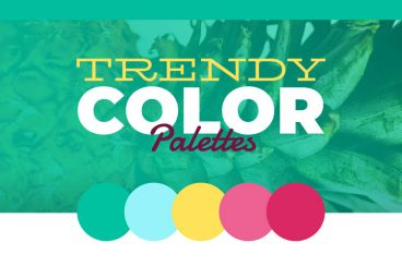 Exclusive Freebie: Trendy Color Palettes