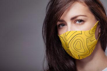 30+ Face Mask Mockup Templates & Overlays