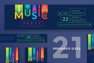 15+ Free Facebook Event Cover Templates for Nightclubs and Parties