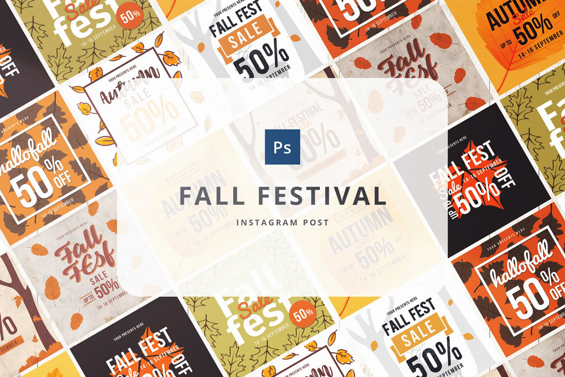 fall-template How to Boost Your Social Media Presence With Templates design tips