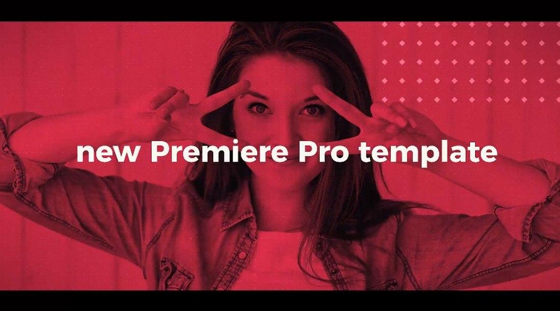 fast intro - premiere pro intro template
