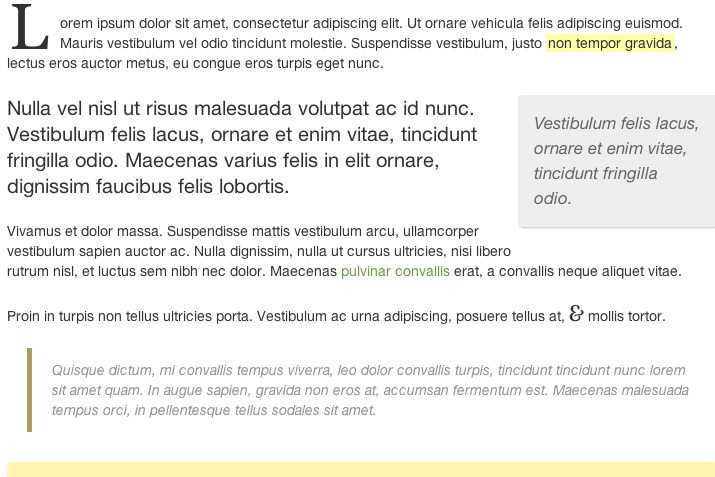css3 paragraphs drop cap effects tutorial ux design