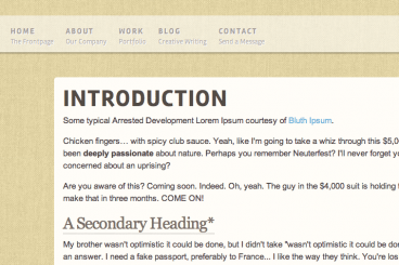 featured-image-header-typography-css3