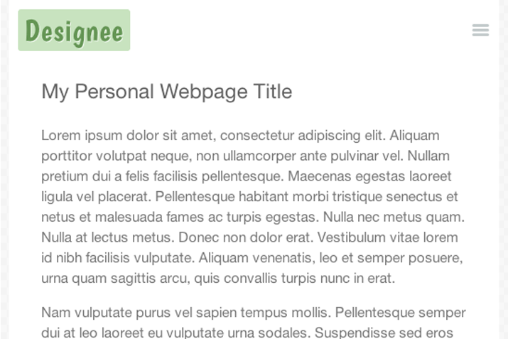 featured preview jquery sliding toggle menu nav