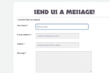 Helpful HTML Form Feedback With CSS3 Transitions