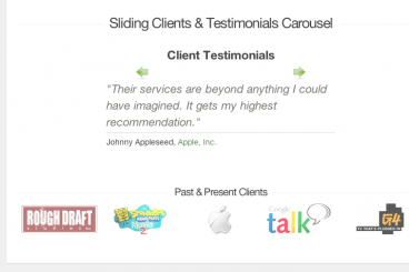 Build a Sliding Client Testimonials Carousel With jQuery