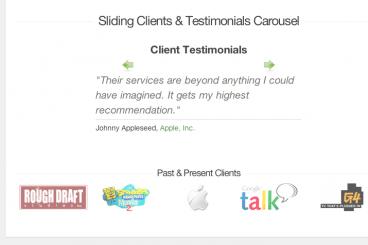 Build a Sliding Client Testimonials Carousel With jQuery | Design Shack