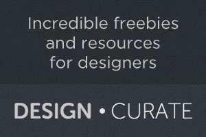 Announcing Design Curate: Freebies and Resources for Designers