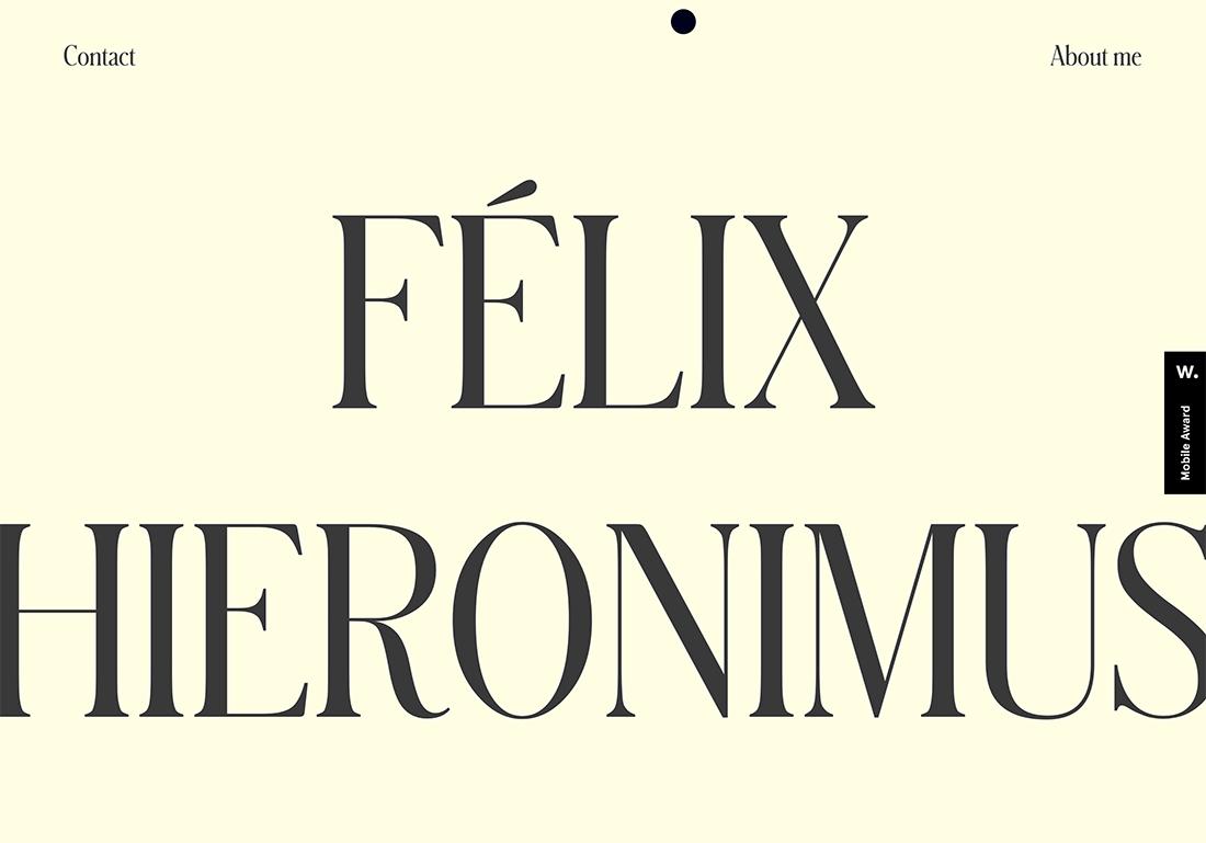 felix Design Trend: Text That's Not Readable design tips