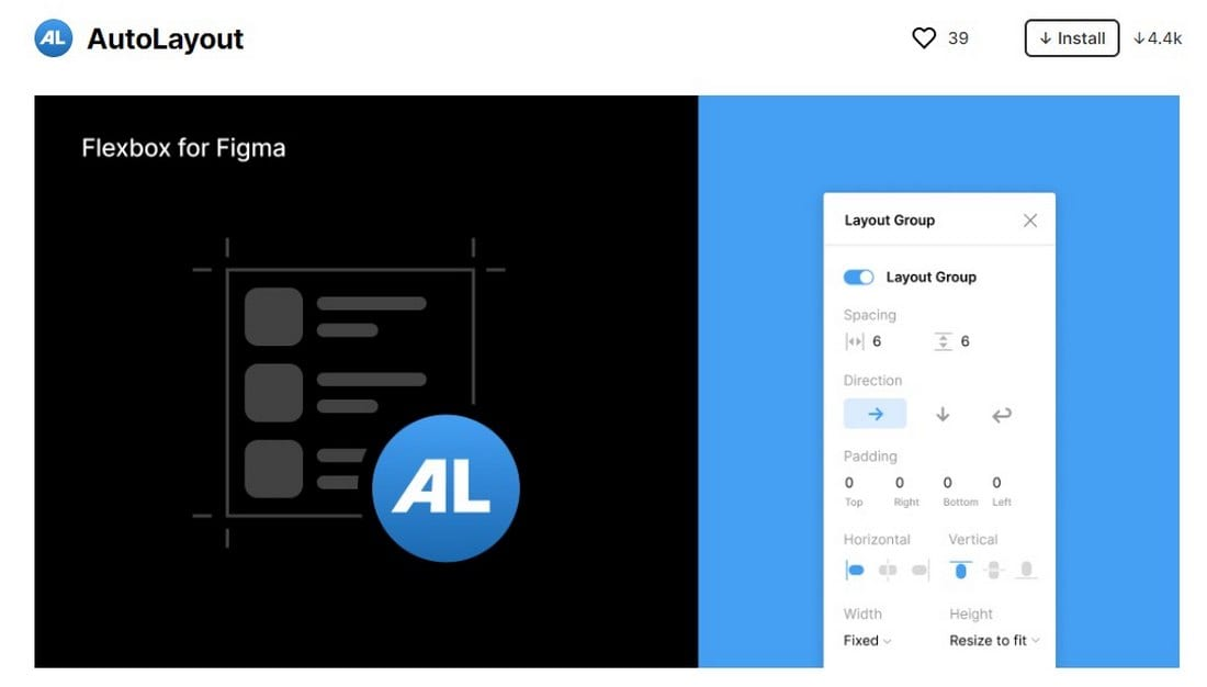 figma plugin - auto layout