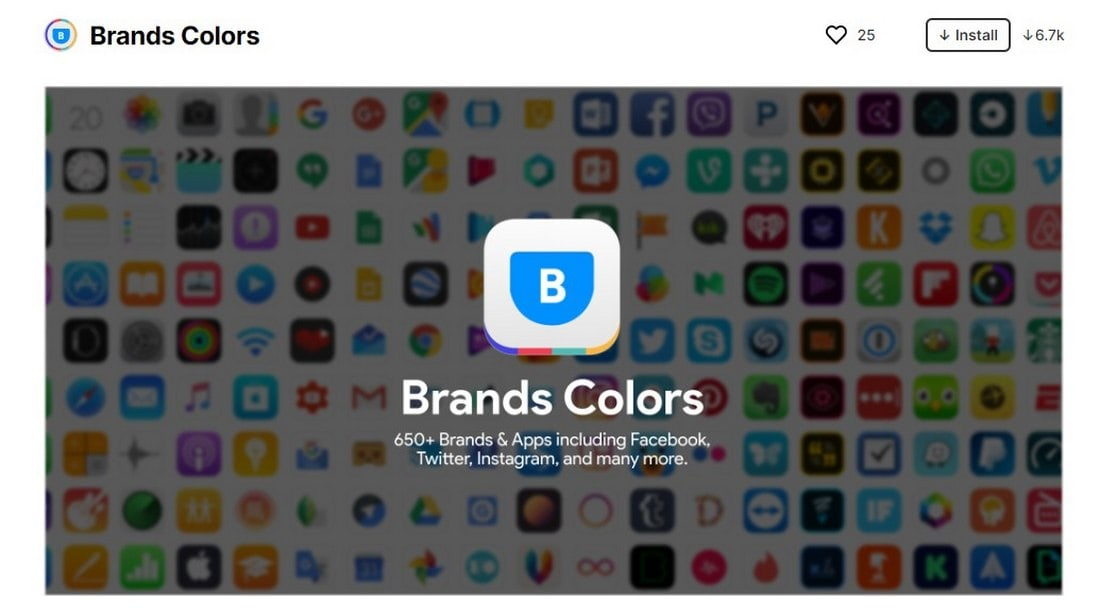 figma plugin - brand colors