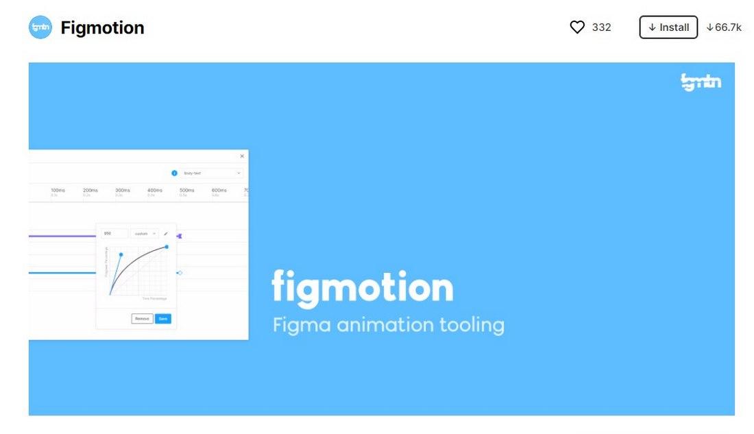 figma plugin - figmotion
