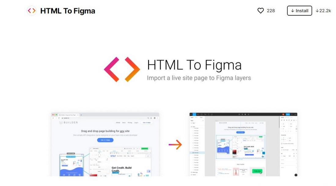 figma plugin - html to figma