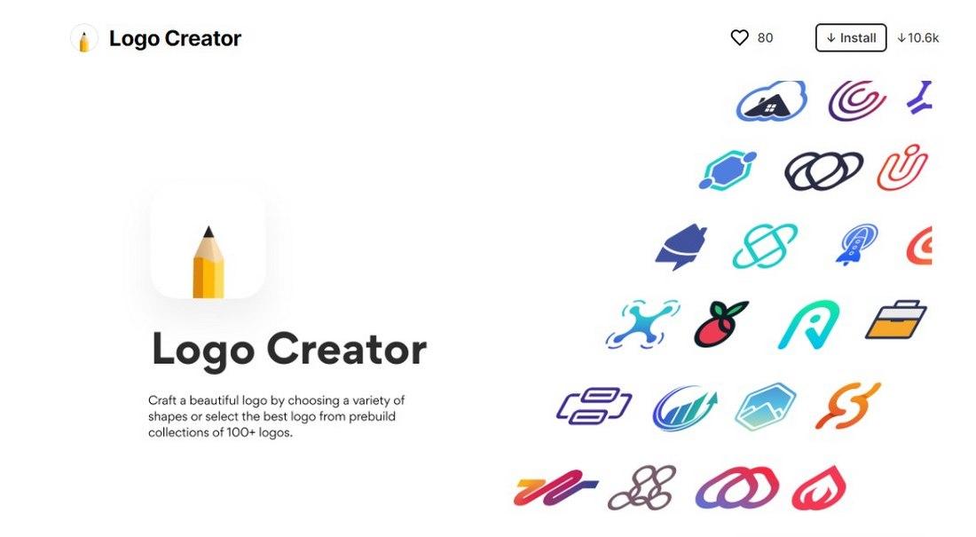 figma plugin - logo creator