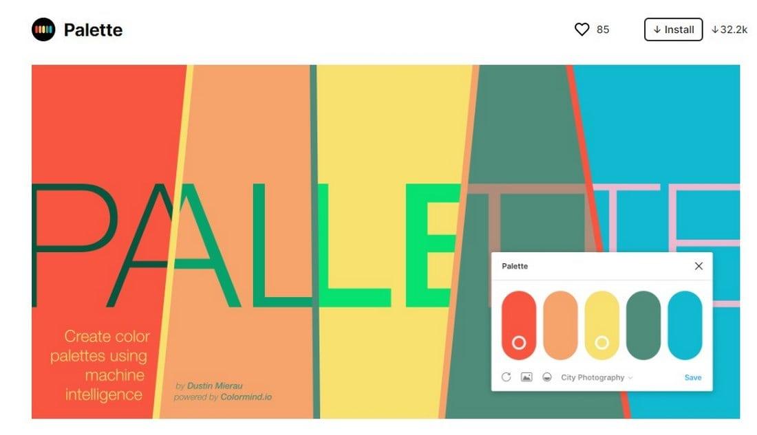 figma plugin - palette