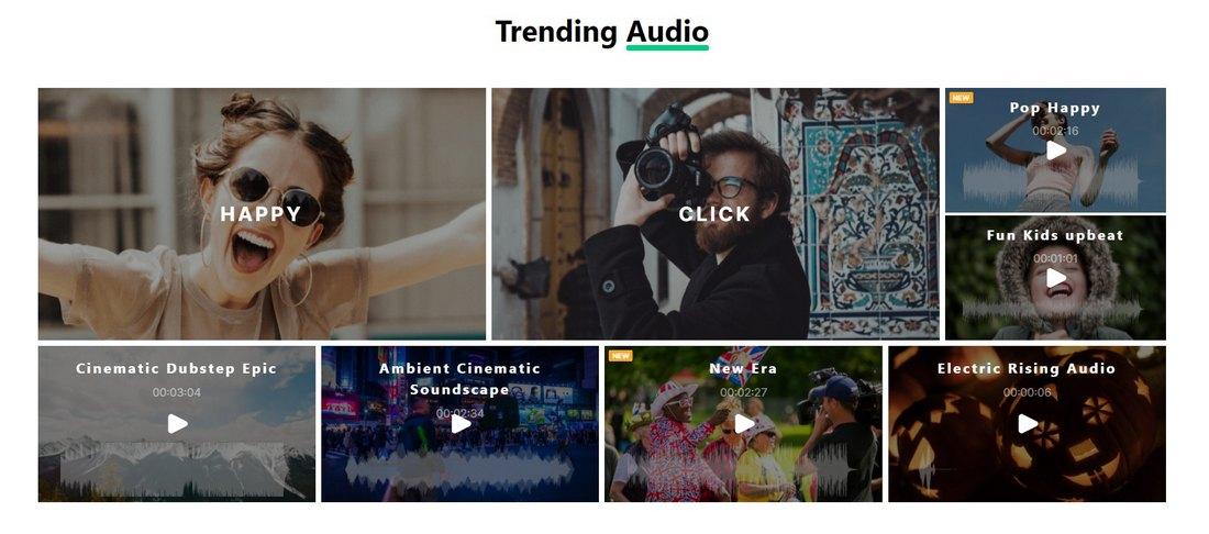 filmstock audio
