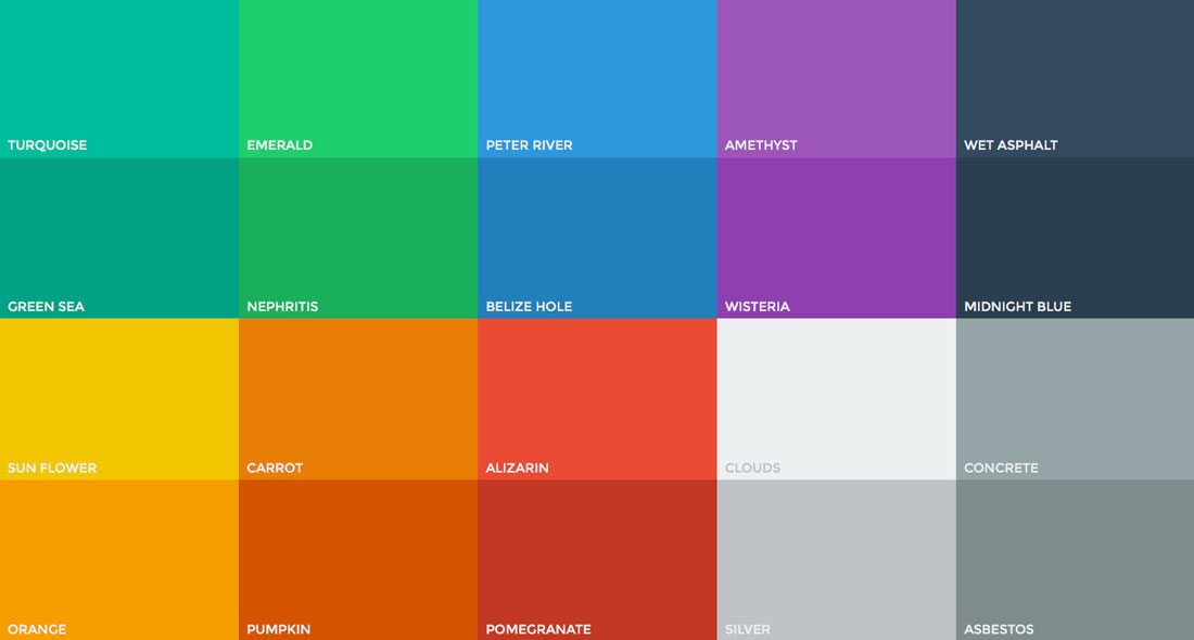 The Evolution Of Flat Design Muted Colors