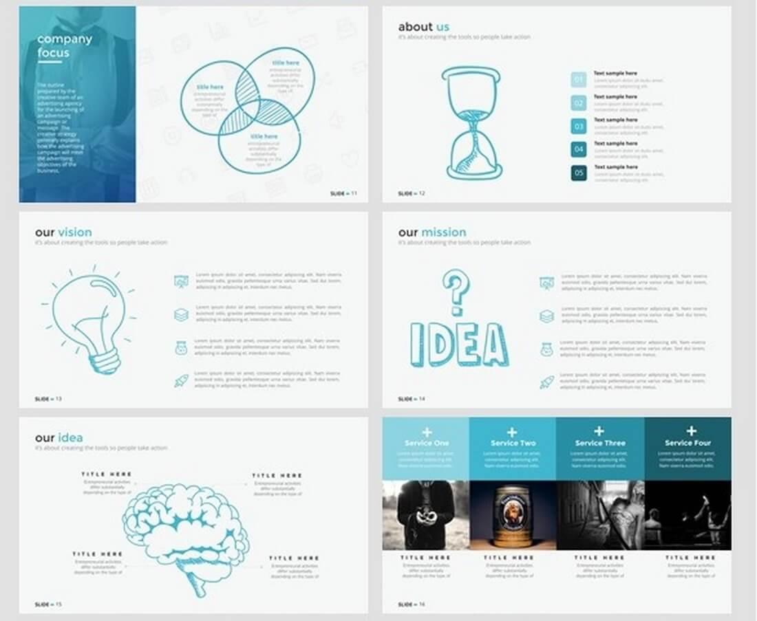 25 keynote business slide templates design shack for Keynote brochure template