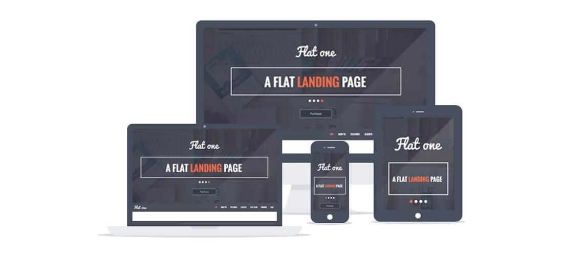 flatone 30+ Clean & Minimal Landing Page Templates design tips