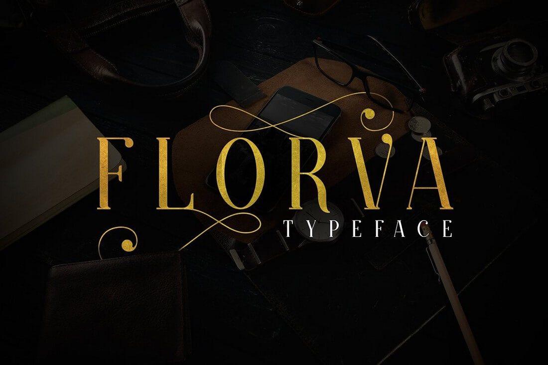 florva2b- 100+ Best Modern Serif Fonts design tips