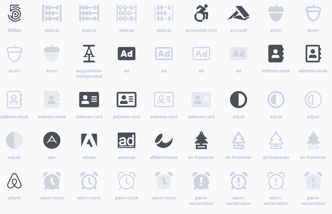 What Is An Icon Font And How To Use One Design Shack