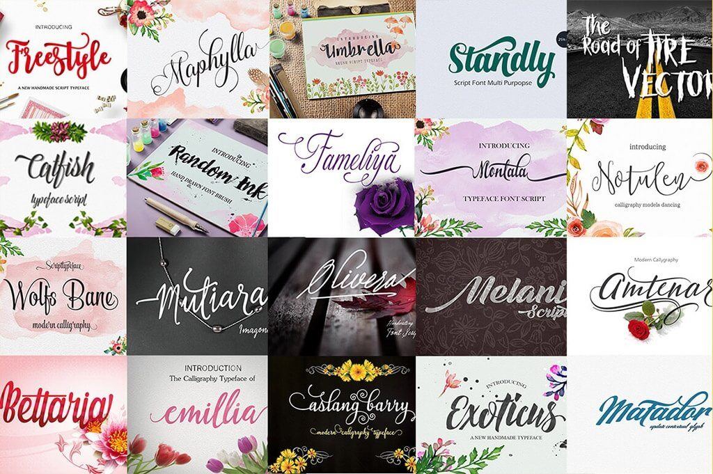30 Premium Font Bundles | Design Shack
