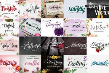 30 Premium Font Bundles