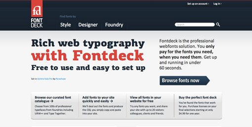 Ultimate Web Font Resource Roundup: 50 Awesome Sites | Design Shack