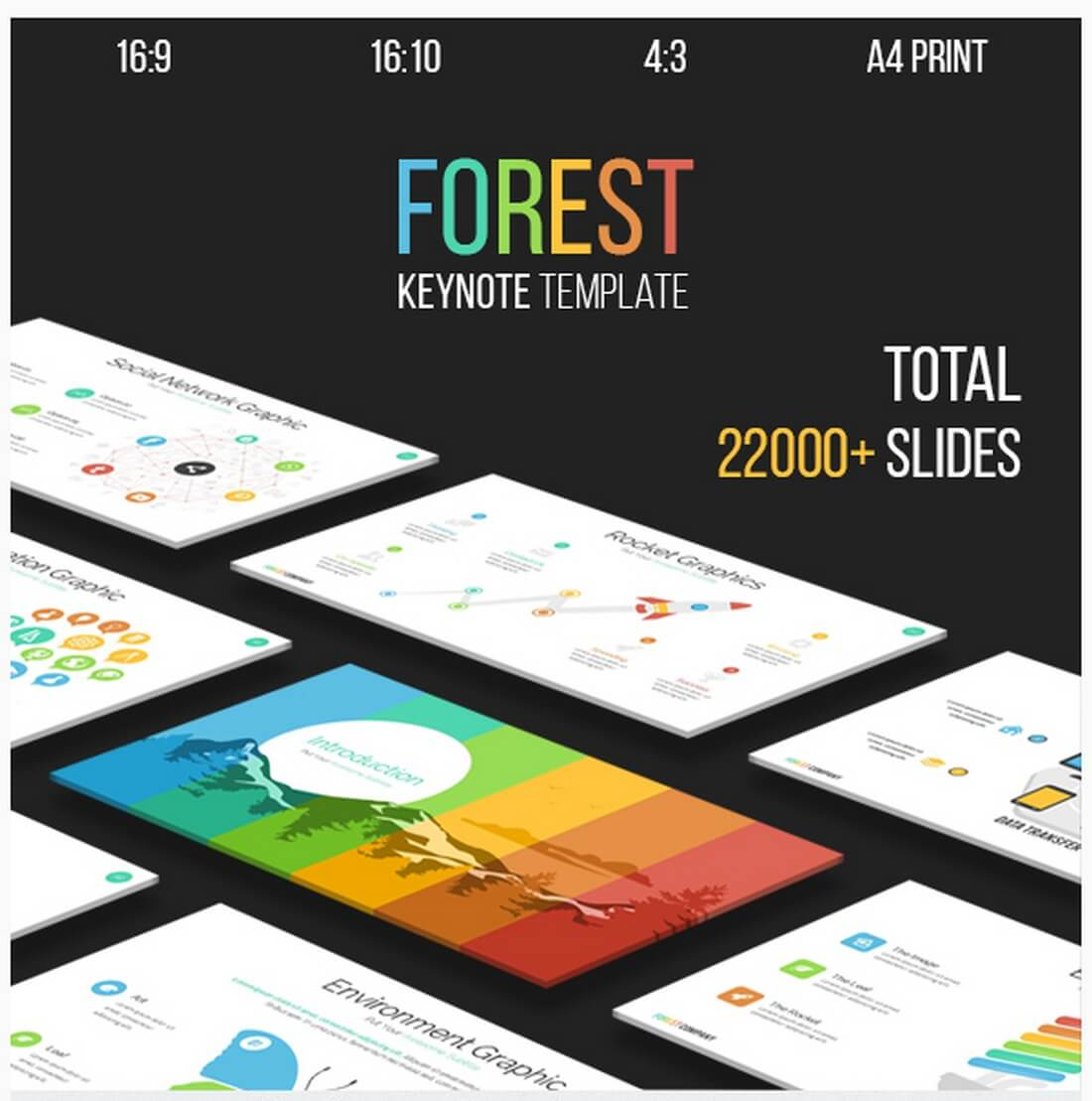 forest 30+ Best Keynote Templates of 2018 design tips
