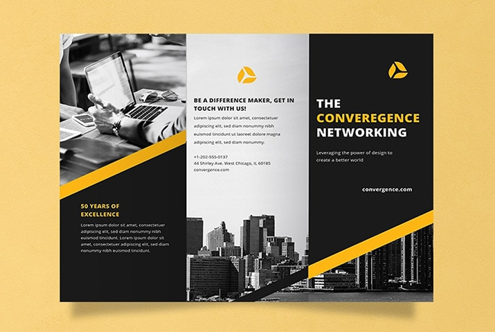15  free brochure templates for word  tri