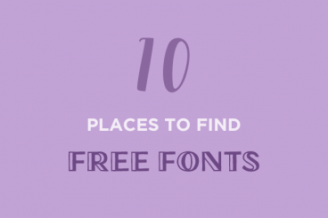 10+ Best Places to Find Free Fonts