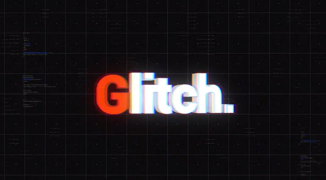 free-glitch-intro-template 30+ Best After Effects Intro Templates design tips