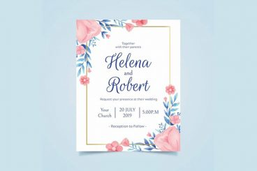 20+ Best Free Invitation Templates