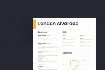 20 Best Free Resume Templates For Word Design Shack