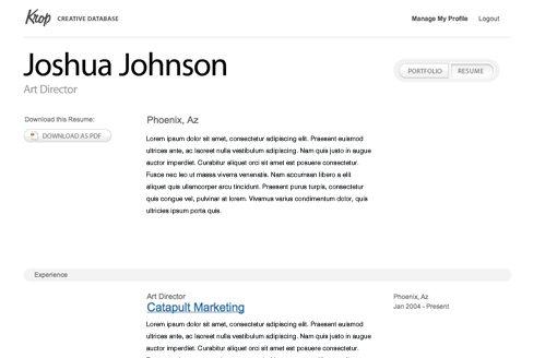 Graphic designer resume portfolio pdf