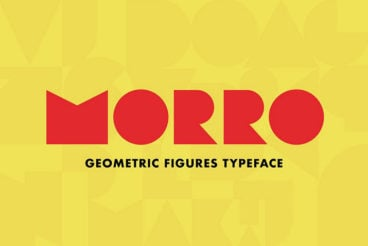 20+ Best Geometric Fonts 2020 (Free & Premium)
