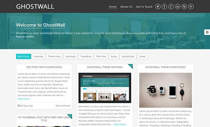 Blog ghost