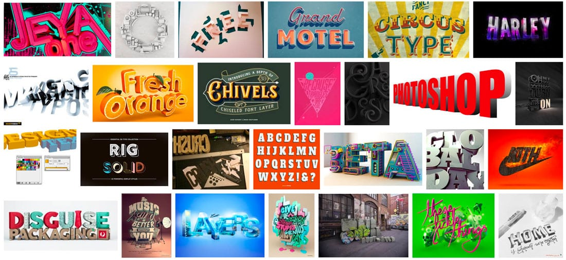 google-3d-type 3D Typography: An Inspiring Design Trend design tips