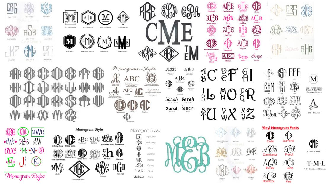 Wedding Monogram Logo Ideas Tips Advice Design Shack