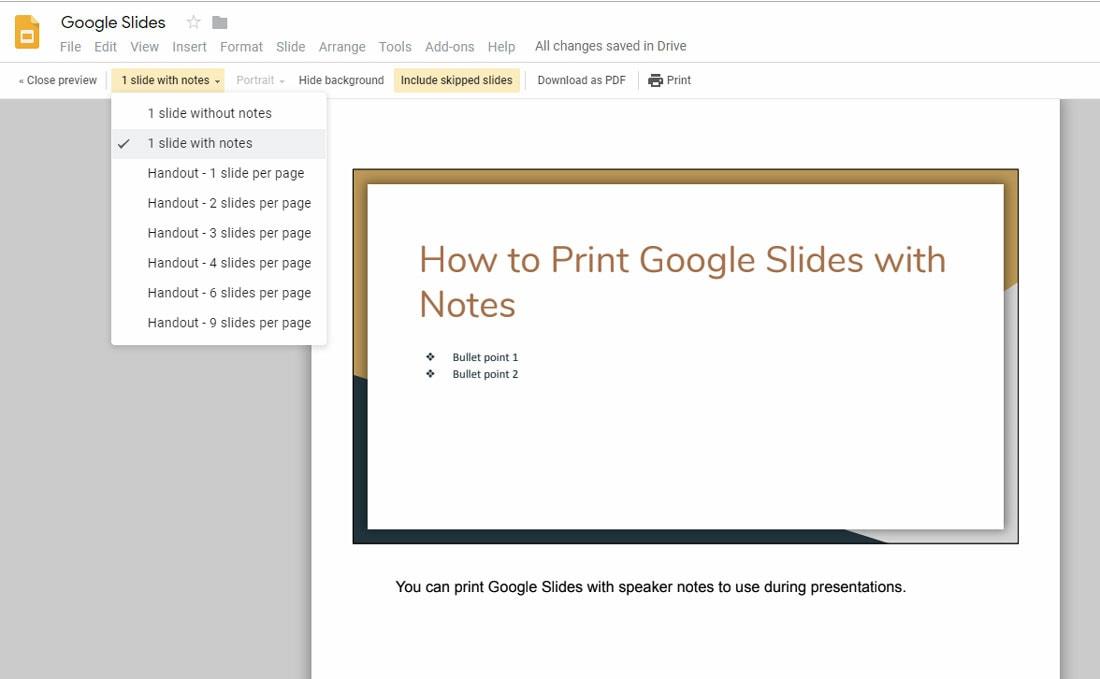 google slides how to