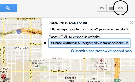Embedding Google Maps Into A Web Page A Beginners Guide Design - Us map overlay popup css