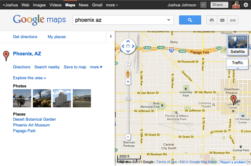 how to put google map in bootstrap page
