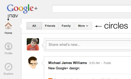 new google plus