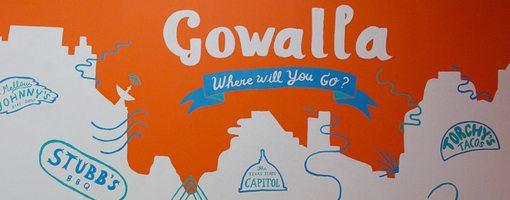 social geo tagging Gowalla artwork