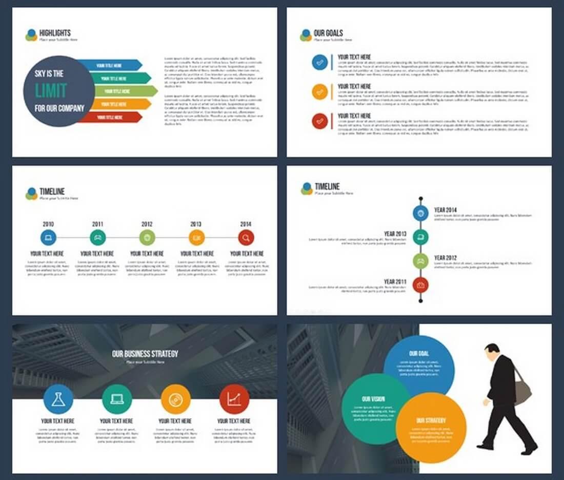 25 keynote business slide templates design shack gravity business keynote template flashek Images